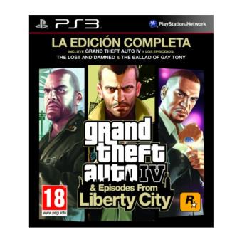 GTA IV La Edición Completa PS3