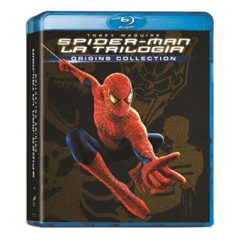Pack Trilogía Spiderman - Blu-Ray
