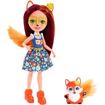 Muñeca Enchantimals Felicity Fox y Flick Mattel FXM71