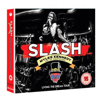 Box Set Slash featuring Myles Kennedy And The Conspirators - Living The Dream Tour - CD + Blu-ray + Audiobook