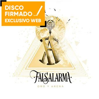 Oro y arena - Disco firmado