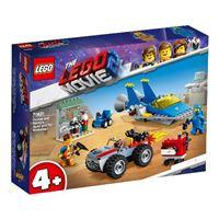 """LEGO Movie 2 70821 Taller """"Construye y Arregla"""" de Emmet y Benny"""