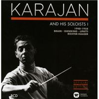 Karajan and his soloists - Concerto Recordings 1948 - 1958 - 8 CD