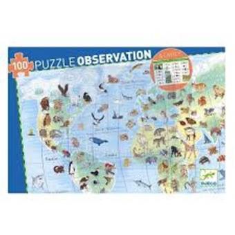 Puzzle Animales del mundo