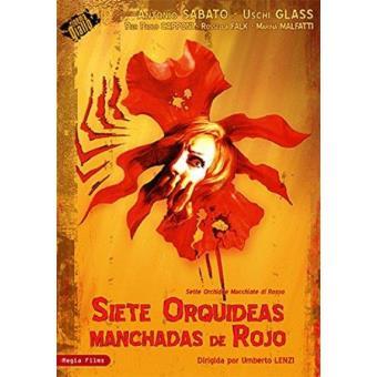 Siete orquídeas manchadas de rojo - DVD