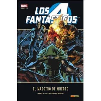 Los 4 Fantásticos. El maestro de Muerte. Marvel Deluxe
