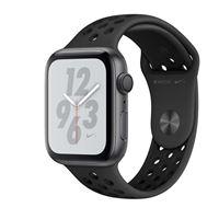 Apple Watch S4 Nike+ GPS 44 mm Caja de aluminio en gris espacial y correa Nike Sport Antracita/Negro