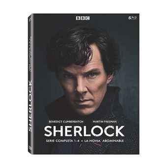 Sherlock - Temporadas 1-4 + La Novia Abominable - Blu-Ray