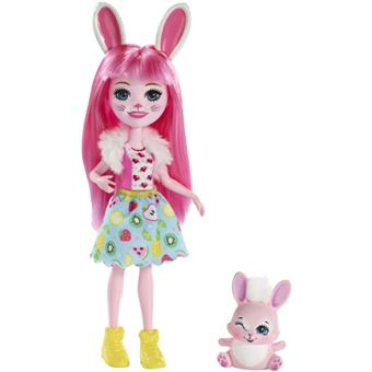 Muñeca Enchantimals Bree Bunny y Twist Mattel FXM73