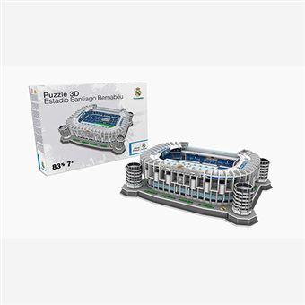 Puzle 3D Estadio Santiago Bernabéu