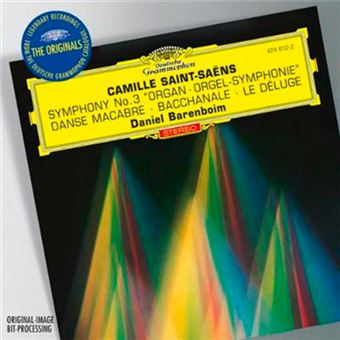 Saint-Saens - Symphony no.3 Orgelsymphonie - Vinilo