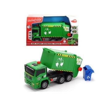 Camión de basura verde (28cm)