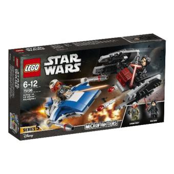 LEGO Star Wars TM 75196 Microfighters: Ala-A vs. Silenciador TIE