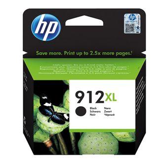Cartucho de tinta HP 912XL Negro