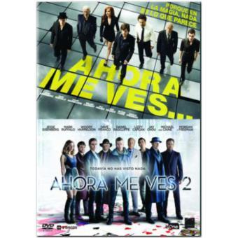 Pack Ahora me ves 1 y 2 - DVD