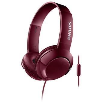 Auriculares Philips BASS+ SHL3075RD Rojo