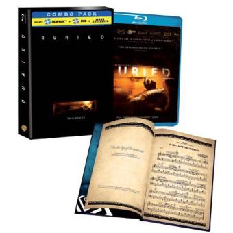 Buried - Enterrado - Blu-Ray + DVD + Libreto - Exclusiva Fnac