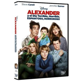 Alexander y el día terrible, horrible, espantoso, horroroso - DVD