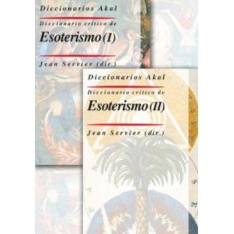 Diccionario crítico de esoterismo (2 vols.) Oferta. Antes 49.95 €