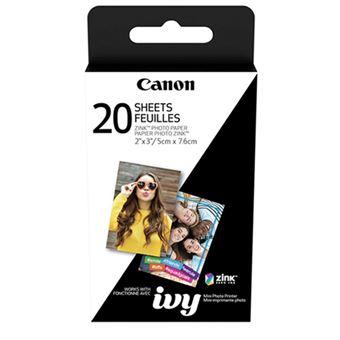 Papel fotográfico Canon ZP-2030 20 uds