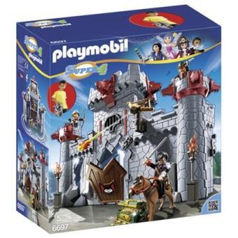 Playmobil Super 4 Castillo maletín del Barón Negro