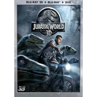 Jurassic World - Blu-Ray + 3D + DVD