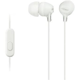 Auriculares Sony MDR-EX15AP Blanco