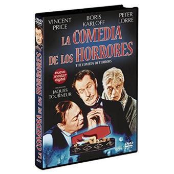 La comedia de los horrores - DVD