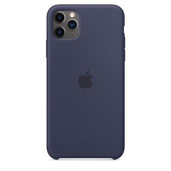 Funda de silicona Apple Azul noche para iPhone 11 Pro Max