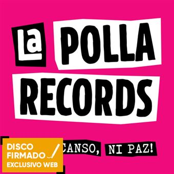 Ni descanso, ni paz! - CD + Vinilo Firmado