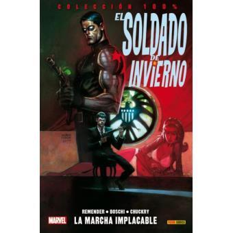 El Soldado de Invierno: la marcha implacable 100% Marvel