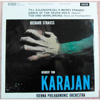 Strauss - Till Eulenspiegel's Merry Pranks - Vinilo