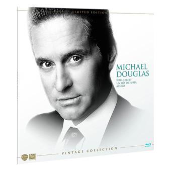 Pack Colección Michael Douglas  Ed Limitada Vinilo - Blu-Ray