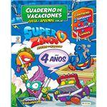 Cuadernos vacaciones superzings 4 a
