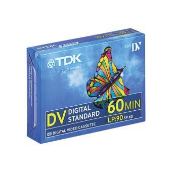 TDK Pack 5 Cintas Mini DV 60