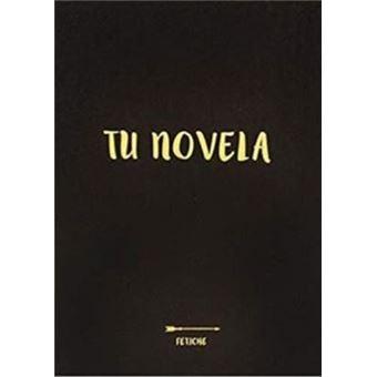 Cuaderno Tu novela A5 Negro