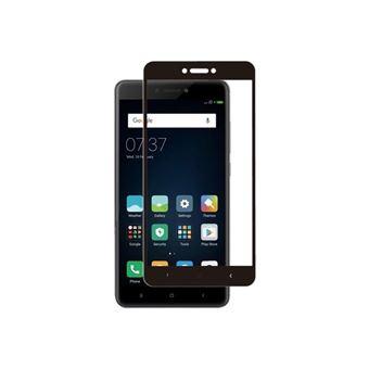 Protector de pantalla Muvit con marco Negro para Xiaomi Redmi 4X