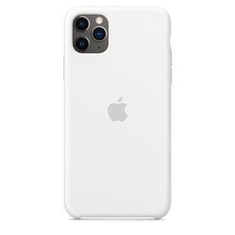 Funda de silicona Apple Blanco para iPhone 11 Pro Max