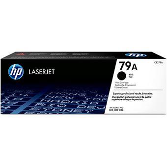 Cartucho de tóner HP LaserJet 79A Negro