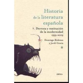 Historia de la literatura española 7