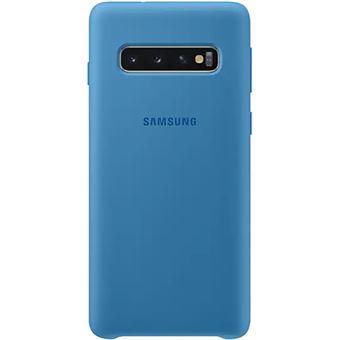 Funda de silicona Samsung para Galaxy S10 Azul