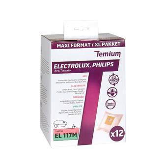 Bolsa para aspirador Temium EL117M 12)