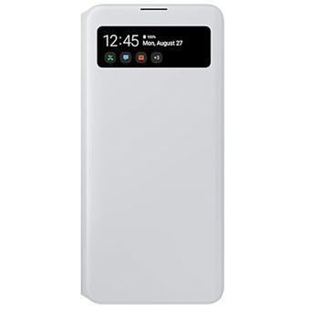 Funda Samsung S View Blanco para Galaxy A71