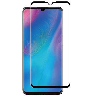 Protector de pantalla Muvit Cristal templado Marco Negro para Huawei P30