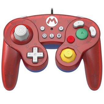 Mando Hori Battle Pad Super Mario Nintendo Switch