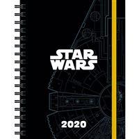 Agenda 2020 Star Wars espiral tapa blanda