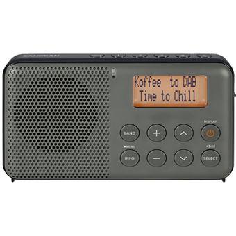 Radio Portátil Sangean DPR-64 DAB+/FM-RDS Gris