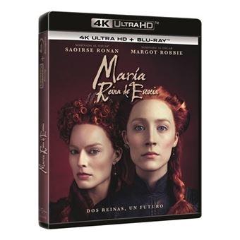 Maria, reina de Escocia - UHD + Blu-Ray