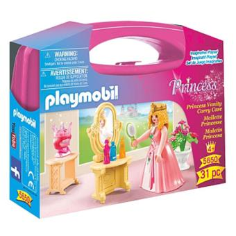 Playmobil Princesa con maletín