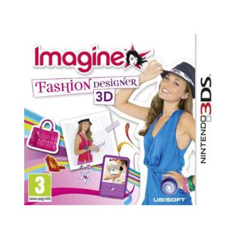 Imagina ser Diseñadora de Moda 3D Nintendo 3DS